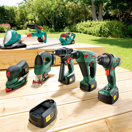 All Bosch power tools for DIY enthusiasts with a changeable battery in the 10.8/12-volt, 14.4-volt and 18-volt classes are equipped with the Syneon Chip. No matter what your project - you always benefit from maximum power and endurance.