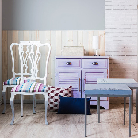 A new look with chalk paint