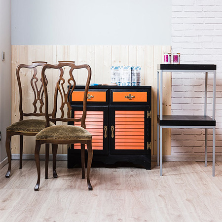 you can spray paint furniture - and add a glam new look to ...
