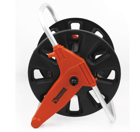When coiling up a garden hosepipe, use a Garden Master hose pipe reel. These come in portable form or can be mounted on the wall and will prevent the hosepipe from permanently developing a kink to the left or the right. Over time, kinks in the line eventually turn into holes – which often go unnoticed.
