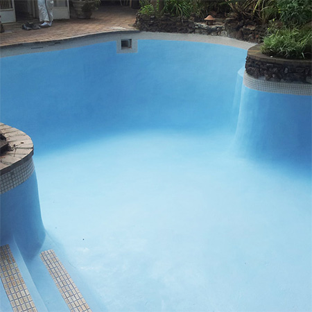 HOME-DZINE | Pool Repair - Cemcrete Pool Coating is a once-off application