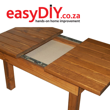 Don't forget to buy the Spring issue (Issue 26) of Easy DIY magazine for instructions on how to make a coffee table with a sliding top.