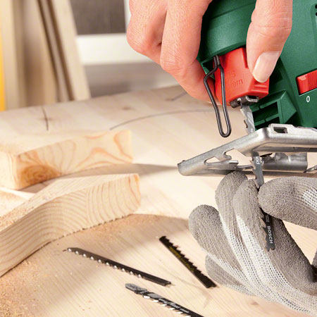 HOME-DZINE | Bosch Power Tools - Bosch Jigsaws feature SDS for effortless and safe saw blade changes within seconds.