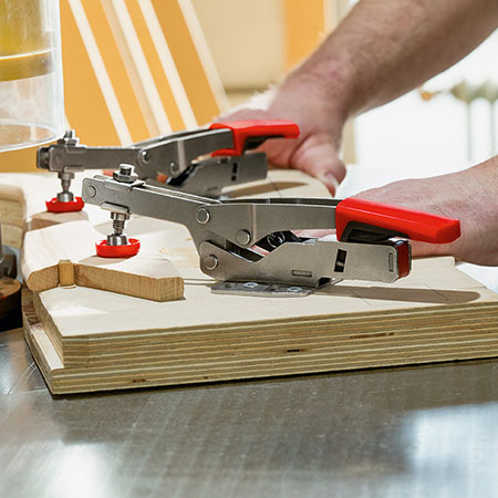 HOME-DZINE   Vermont Sales - To mark the 5th anniversary for its STC self-adjusting toggle clamp range Bessey have launched a new website service.