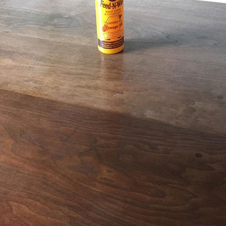 HOME-DZINE | Howard Feed-N-Wax - Howard Feed-N-Wax provides protection for all wood furniture