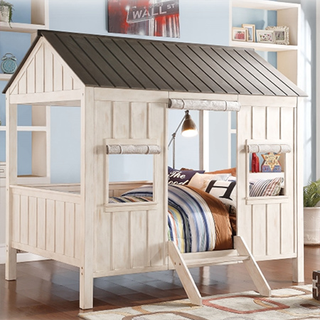 cabin or playhouse bed from design-a-bed