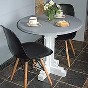 Make a pedestal table
