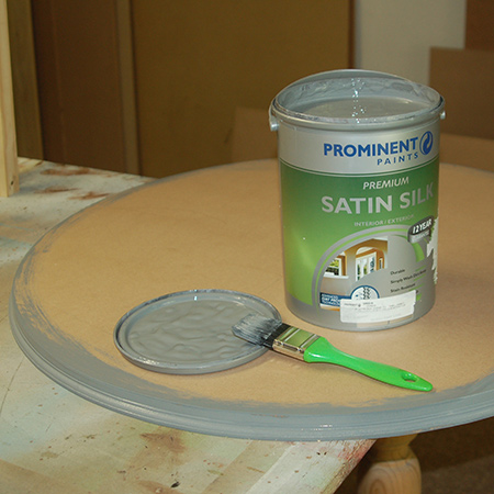 Prominent Paints Premium Satin Silk is hardwearing, and washable and does not chalk on exterior exposure.