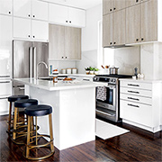 Practical design tips for a small kitchen