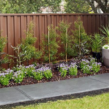 Home dzine garden ideas lay a concrete path for Garden design za
