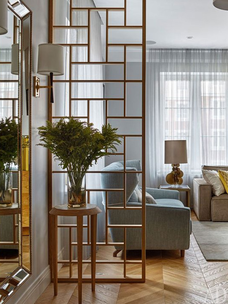 A simple wood partition as a room divider is an easy way to create zones within an open plan living area. PAR pine is available in various widths and in lengths of up to 3 metres.
