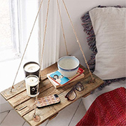 DIY hanging tables