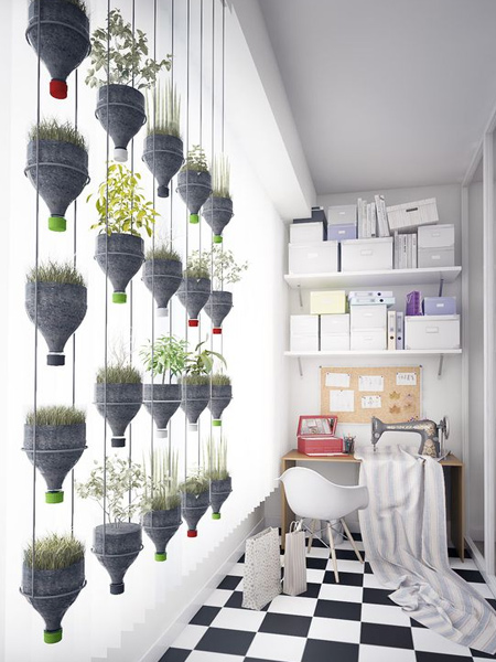 Crafty ideas for hanging plants
