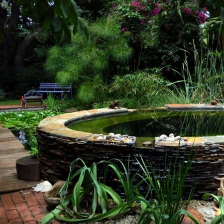 Home Dzine Garden Ideas Wetland Pool Conversion