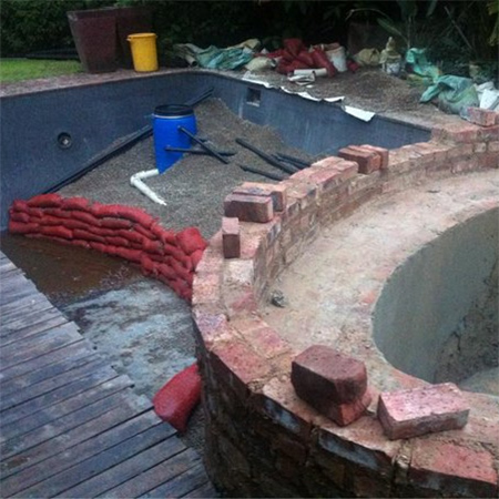 Wetland pool conversion