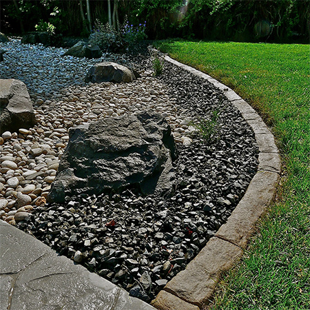 home dzine garden ideas diy concrete edging