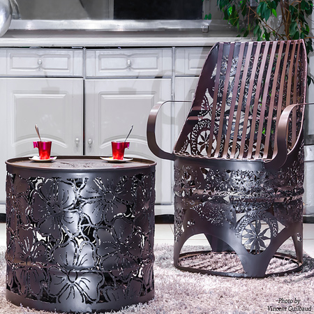 Priced from around R220, you can pick up oil drums from a variety of local suppliers. If you are prepared to put in the time and effort, you can easily make your own stylish and trendy furniture at very reasonable cost.