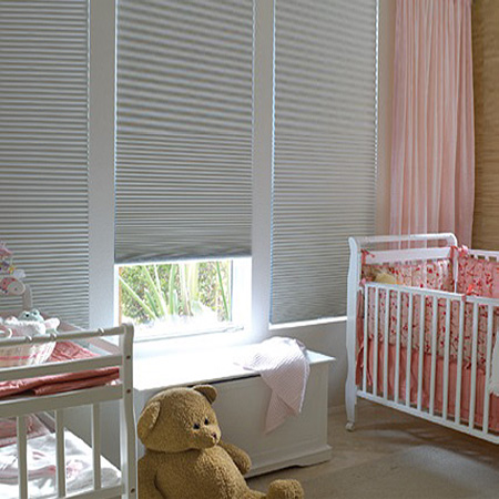 Honeycomb Blinds - Great for Kids Rooms