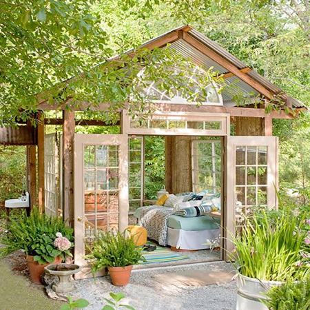 Create the ultimate She Shed