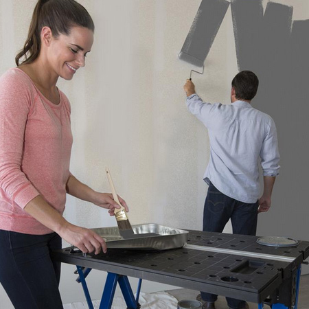 More than just a workbench, the Project Centre is great for all your home repair and home improvement projects.