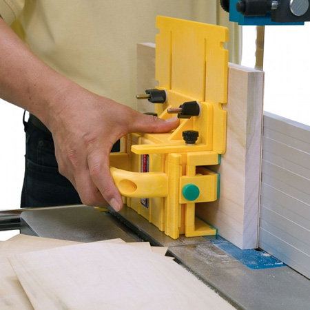 The MicroJig Gripper eliminates the need to manually feed stock and provides protection against harm. You can easily cut strips as thin as 6mm with ease and allows you to make use of all those small. scrap pieces that normally get tossed out.