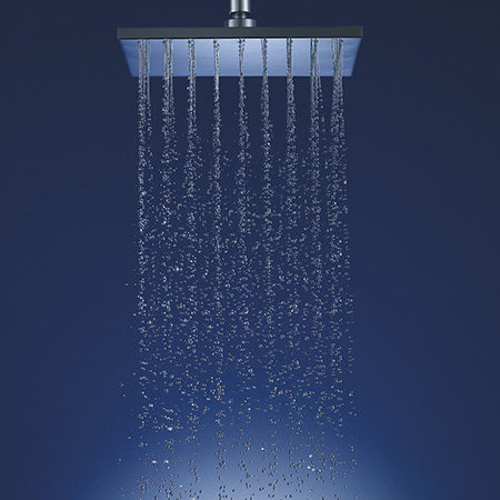 Water-Efficient, Air-Induction Showerheads