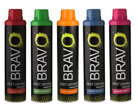 From the Rust-Oleum stable comes Bravo spray paint - exclusive to Builders Warehouse and at a fraction of the price.