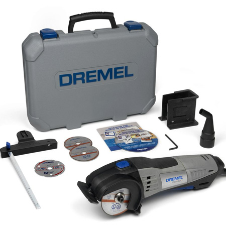 Dremel DSM20 replaces angle grinder and circular saw