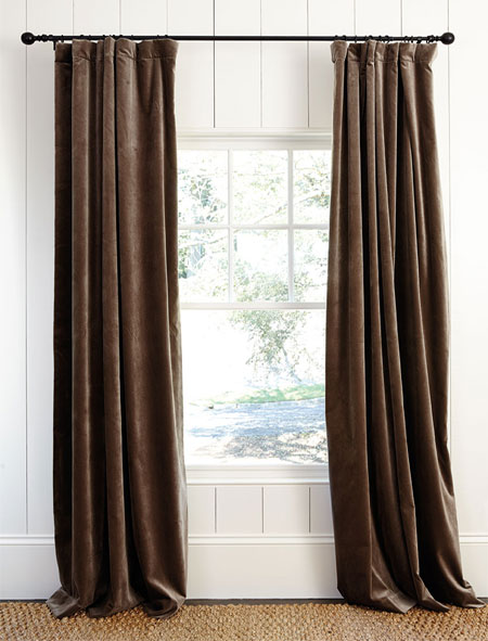 With help from Finishing Touches, we have already offered advice for measuring up and hanging blinds. In this feature we looking at curtains as a window treatment.