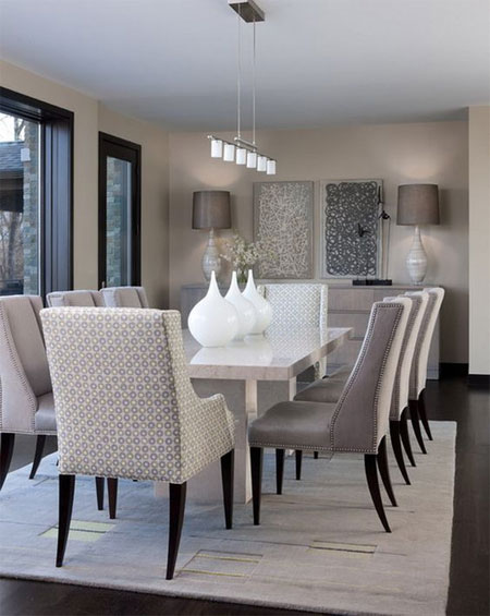 HOME-DZINE - Dining Rooms | More than just a place to set up a table and chairs, a dining room should reflect the same personality and style as the rest of your home. Take a look at these beautiful dining rooms and be inspired to create a room that looks great.