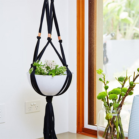 For many years I have been using macrame for plant hangers and wall hangings, as far back as the 80s when macrame was trending. Macrame is an inexpensive way to create your own plant hangers - and fun too!
