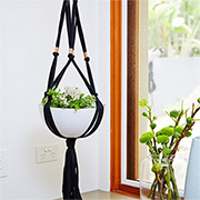 Make a Macramé Plant Hanger