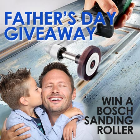 Win a Bosch PRR 250 for Dad!