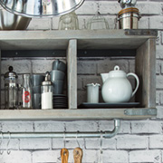 Quick Project: DIY Industrial Style Shelf