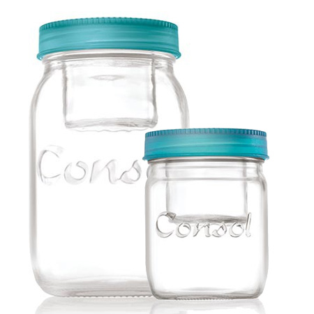 Consol's new range of Jar in a Jar are perfect for homemade gifts. Use them to create cookie-in-a-jar, pudding-in-a-jar, or meals-in-a-jar.