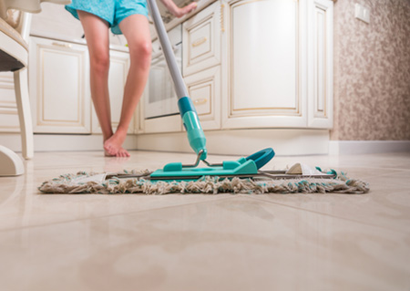 HOME DZINE | Clean Floor Tiles