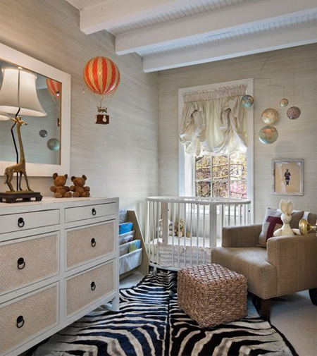 HOME-DZINE | If you are clever – your nursery will easily transition into a toddler room when the time comes – so choose an ageless design that will grow with your child.