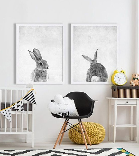 HOME-DZINE | An arrangement of family photos or framed pictures above the changing table will double up as art that isnt overly babyish – consider painting a 'family tree' on the wall as a way to add to the décor.