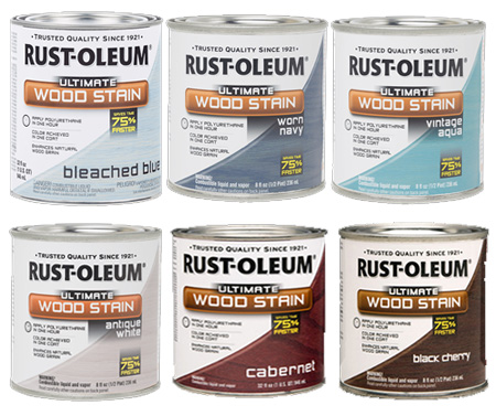HOME-DZINE | Find the full range of Rust-Oleum Wood Stain wood tints at your local Builders, or get in touch with www.Spraymate.co.za to find your nearest retail outlet.