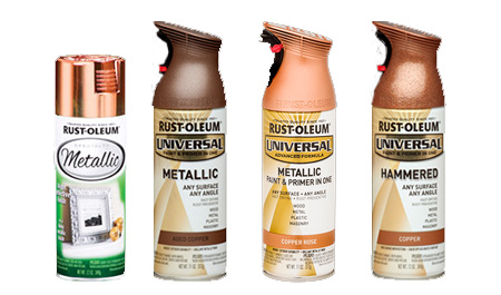 HOME-DZINE | Grab a can of Rust-Oleum Metallic at your nearest Builders, or get in touch with www.Spraymat.co.za to find your nearest retail outlet. Find advice, projects and more in our Rust-Oleum Crafts.