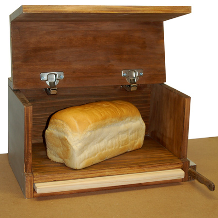 home dzine home diy make a pine bread bin. Black Bedroom Furniture Sets. Home Design Ideas