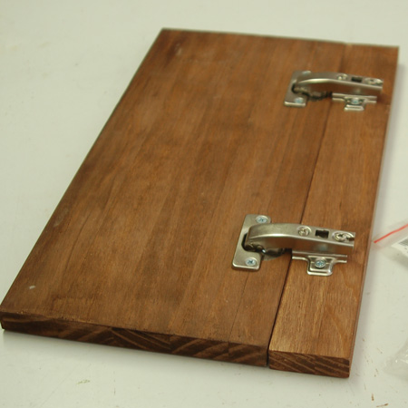 HOME-DZINE | Make a pine bread bin or bread box with Eureka 90-degree blind corner concealed hinges