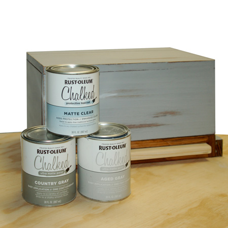 HOME-DZINE | You will find the full range of Rust-Oleum Chalked paint at your local Builders Warehouse, or get in touch with www.Spraymate.co.za to find your nearest retail outlet.