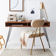 DIY Home Office Desk