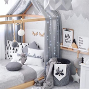 Grey Bedrooms for Kids