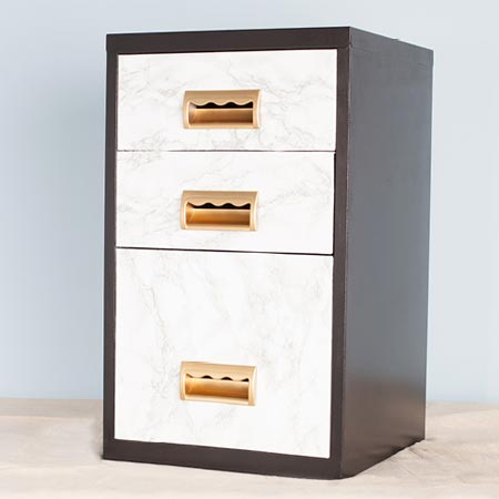 Upcycle a steel filing cabinet