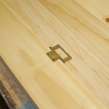 Make a small drop-leaf table - add hinges