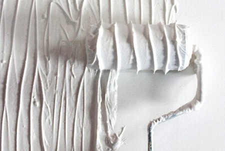 Prominent Paints Tip: It's so easy to create a textured wall with this quick and easy tip! Wrap thin string around your paint roller a few times to create cool paint patterns on the wall. It will give your walls a great texturised look -fun for a kids room.