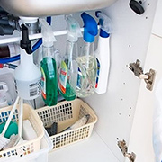 Quick Tip: Under-sink storage