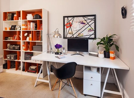 HOME DZINE Home Decor Spare room Home office